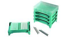 5pcs Azzota PCR Tube Rack,96 Well (8x12), One Cap for 5 Pcs, 5/pk
