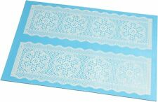 SUGARVEIL Extra-Large Cake Lace Mat & Large Spreader - cakes, cookies & cupcakes