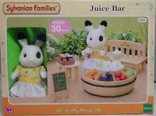 Sylvanian Families 2792 Saftbar mit Figur Hase Bank Früchte 4478 Juice Bar NEU