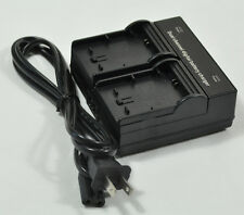 Dual Twin Double Channel AC Battery Charger For Sony NP-FM500H FM51 FM71 FM55H