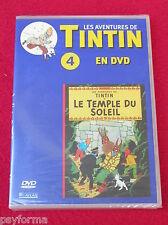 DVD N°4 Les aventures de TINTIN / Le Temple du Soleil / NEUF Sous Blister !!