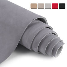 """Suede Headliner Fabric 1/8"""" Thick Foam Upholstery Roof Liner Replacement 60"""" (W)"""
