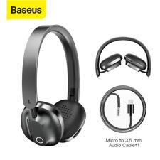 Baseus Bluetooth Wireless Headphones Gaming Headset PC Phone Earphones w Mic