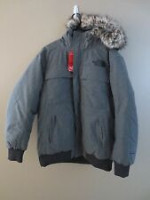 THE NORTH FACE GOTHAM JACKET II TNF GREY HEATHER CYK7DYY Mens SIZE MEDIUM M NWT