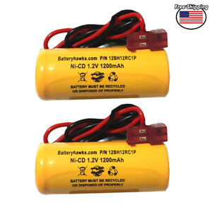 Battery hawks ELB1P201N2 Batteryhawks ELB-1P201N2 Ni-CD Battery for Emergency /