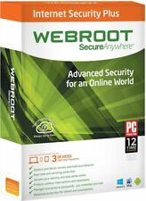 Webroot SecureAnywhere Internet Security Plus 1 Anno 3 PC Windows / Mac