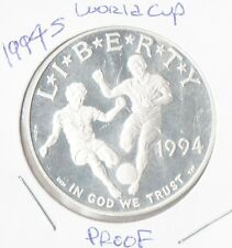 1994 S World Cup CommemorativeProof  Silver Dollar FREE SHIPPING