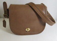 COACH Vintage Tabac Leather Small Shoulder Bag NYC - Refurbished - EVC