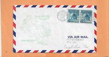 FIRST FLIGHT CRYSTAL CITY TEXAS TO EAGLE PASS TEXAS NOV 1,1949