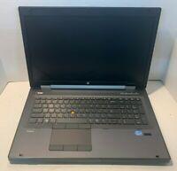 HP Elitebook 8770w i7-3630qm 2.4Ghz 16GB RAM 120GB SSD 500GB HDD Win 10 Pro