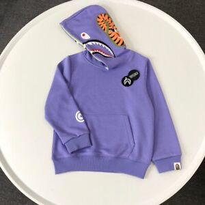 2022 New Kids Boy Girls Shark Animal Jacket Coat Sweatershirt Hoodies With Hat
