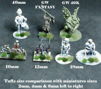 120 x 4mm Static Grass Tufts MULTI COLOUR 28mm Ancients Wargames Basing Bases