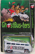 Hot Wheels CUSTOM DRAG BUS Ghostbusters 2016 LAX Convention RR LTD #6 of 10 Made