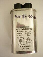 Condensador Usado Genuino Miele 1,03µF2100V - para M613 Microondas - 5841570