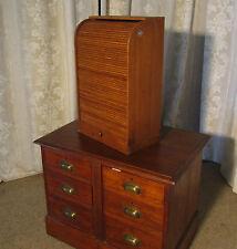 Oak Victorian Edwardian Cabinets (1901-1910)