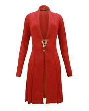 Ladies Womens Knitted Waterfall Boyfriend Cardigan Dress Long Sleeve Jumper 8-30