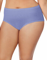 Panties 8-Pack Just My Size 100% Cotton TAGLESS Brief 9-13 JMS Underwear Womens
