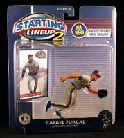 Rafael Furcal Atlanta Braves MLB Starting Lineup 2 action figure NIB Hasbro NIP