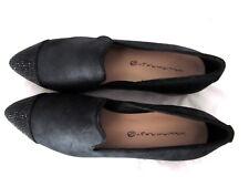 New $140 William Rast Orlando Loafer shoes nubuck leather black sz   8.5 M