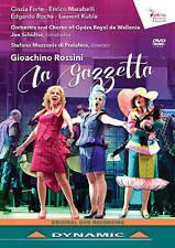 LA GAZZETTA (OPÉRA ROYAL DE LIEGE WALLONIE) NEW DVD