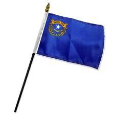 "Nevada State Flag 4""x6"" Desk Table Stick"