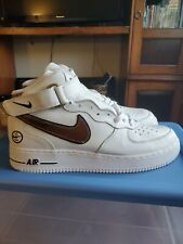 Nike Air Force 1 Mid Vintage 2004 White/Copper Mens Size 11 New