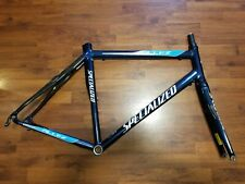 Specialized Allez Comp Road Bike Frame & Fork 700c Zertz Columbus Tubing Blue