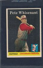 1958 Topps #466 Pete Whisenant Reds EX/MT 58T466-82615-3