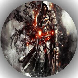 Tortenaufleger Geburtstag Tortenbild Fondant Oblate Assassin's Creed L2