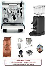 Simonelli Musica Lux Pour Over Espresso Machine Grinder Espresso Package