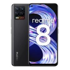 """REALME 8 CYBER BLACK 128GB ROM 6GB RAM 4G LTE DUAL SIM DISPLAY 6.4"""" ANDROID"""