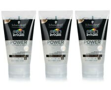 3X Schwarzkopf Pro Styling Power INVISIBLE Gel, No Alcohol 150ml