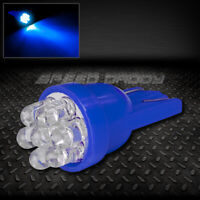 T10 194 168 501 W5W BLUE INTERIOR DOME WEDGE LIGHT BULB W//7-3MM LED UPGRADE