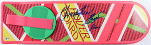 """CHRISTOPHER LLOYD SIGNED HOVERBOARD BACK TO THE FUTURE AUTOGRAPH """"DOC"""" BECKETT"""