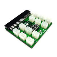 PCI-E PSU GPU 12V 64Pin to 12x 6Pin Power Supply Server Adapter Breakout Board