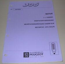 Werkstatthandbuch Peugeot 306 Mehrfacheinspritzung KFX TU3JP Sagem SL96 Motor!