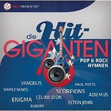 DIE HIT GIGANTEN POP & ROCK HYMNEN 2 CD NEU