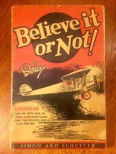 Ripley's Believe It Or Not, 1929, Scarce!
