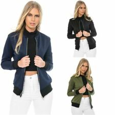 Unbranded Bomber Machine Washable Coats, Jackets & Vests for Women