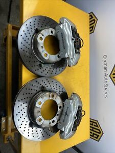 Porsche Boxster 1997-04 986 996 911 Pair Front Brembo Brake Calipers-Free Pads