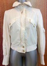 Zara Sport White Jacket UK Size 10