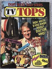 TV TOPS Magazine Comic No.68 Jan 22nd 1983 - Culture Club Dollar Doctor Who