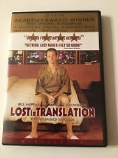 Lost in Translation (Dvd, 2004, Widescreen), Rated R, Bill Murray, Academy Award