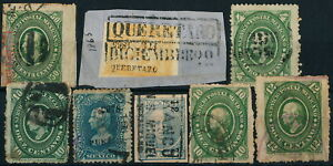 MEXICO, CLASSIC UNCHECKED LOT OF DIFFERENT USED STAMPS.  #M599