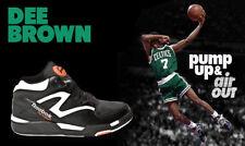 Reebok Pump Omni Lite Dee Brown Boston Celtics Slam Dunk Contest Black Sz 7 Mens