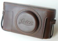 Leica X2 Ever-ready Camera Case with Strap Brown Leather