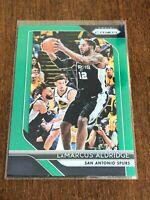 2018-19 Panini Prizm Basketball Green Prizm - LaMarcus Aldridge - Spurs