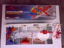 Remco SPIDER MAN SPIDERMAN CSF Elicottero 1978 NUOVO Perfetto COMPLETO Vertibird