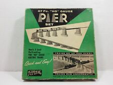 Vintage Atlas 47 Piece HO Gauge Pier Set No.80 Complete In Original Box