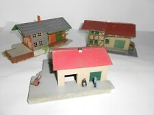 Faller Goods shed varieties. Assembled plastic kits. HO Scale. Made in Germany